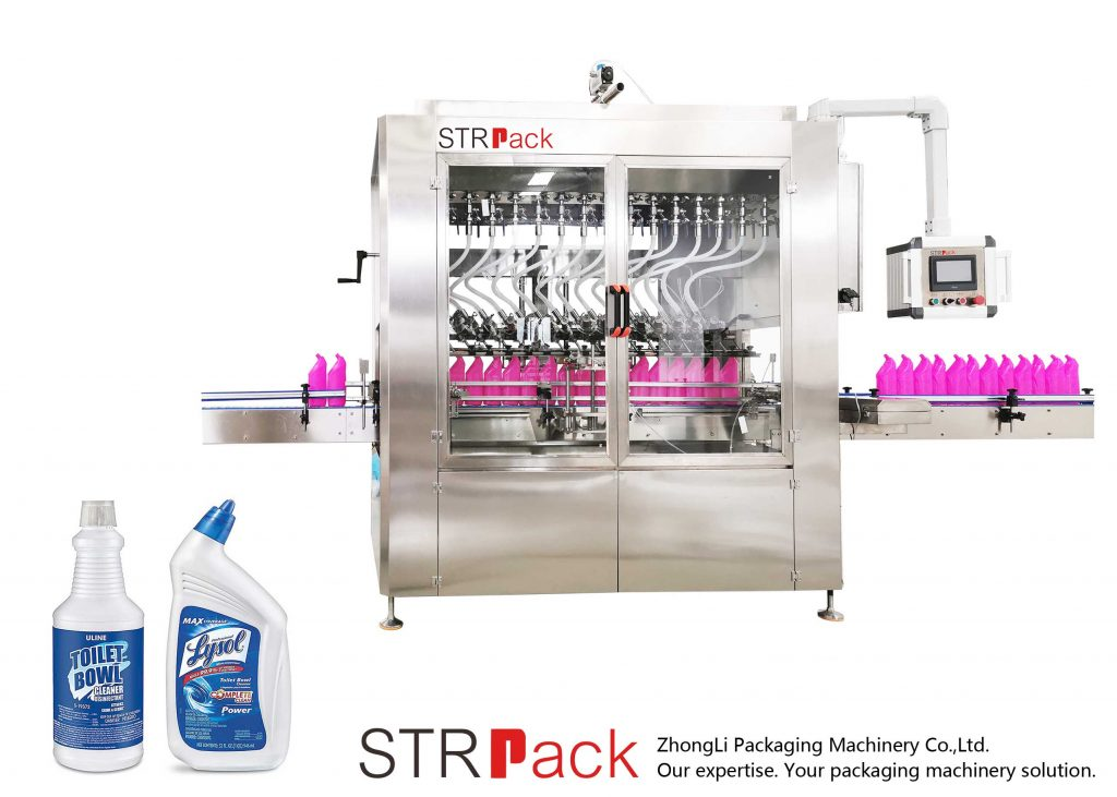 앵글형 병 액체 충전물 기계