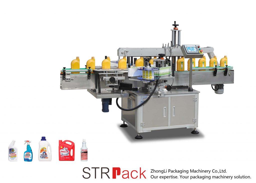 자동 단일 / 이중면 자동 접착 라벨링 기계