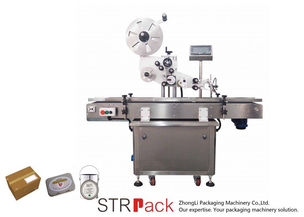 자동 수직면 자동 접착 라벨링 기계