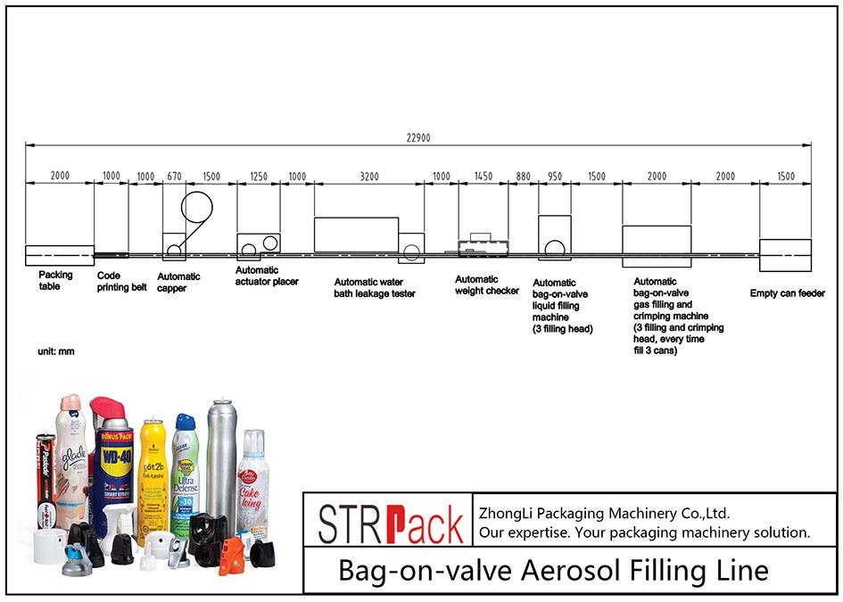 자동 백온 밸브 에어로졸 충전 기계