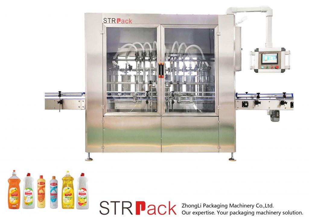 자동 피스톤 타입 액체 충전 기계