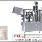 SFS-100 플라스틱 튜브 충전 및 밀봉 기계