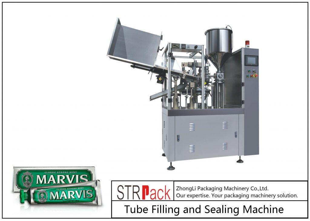 SFS-60 플라스틱 튜브 충진 및 씰링 기계