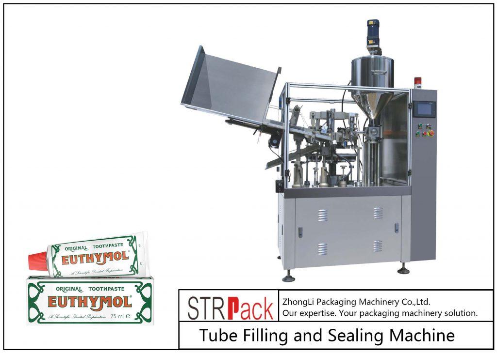 SFS-60Z 금속 튜브 충전 및 씰링 기계