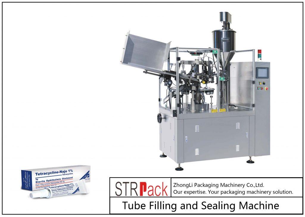 SFS-80Z 금속 튜브 충진 및 씰링 기계