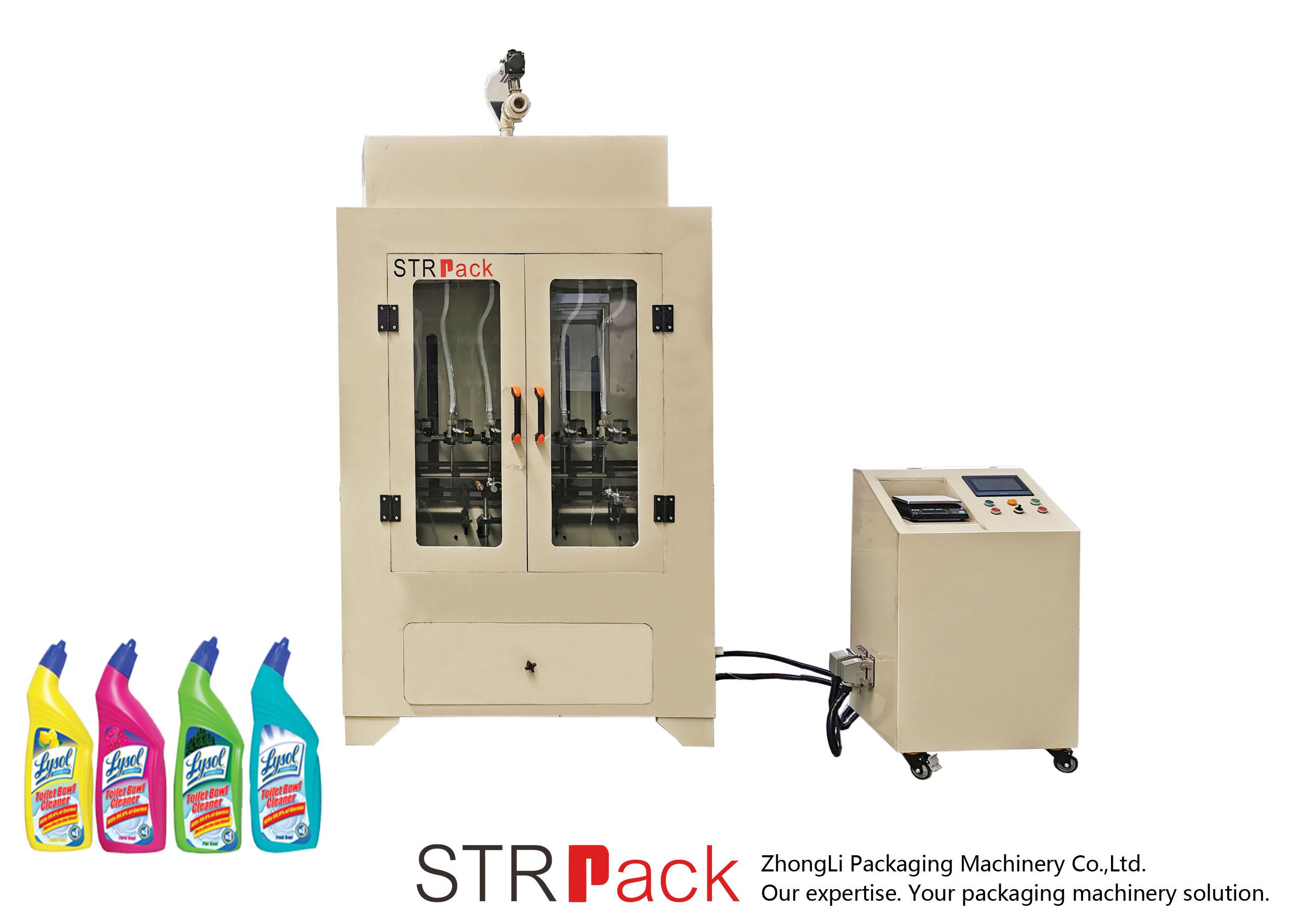 화장실 클리너 액체 충전물 기계